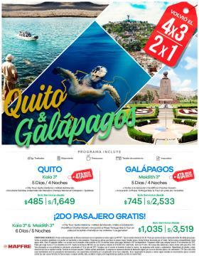 Quito y Galápagos de Promoción