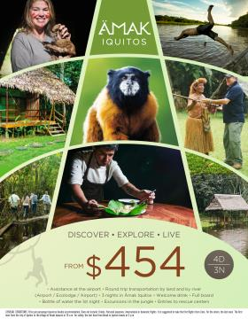 Discover and Explore Amak Iquitos