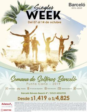 Semana de Solteros Barceló Punta Cana