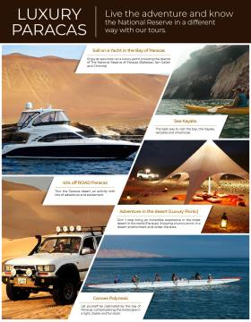 Live the Adventure and Know Luxury Paracas
