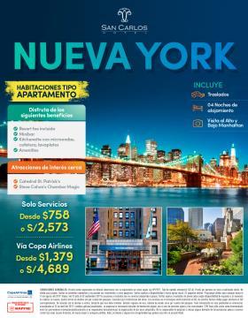 Hotel San Carlos - Nueva York