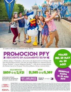 Promoción Disney PFY