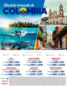 Vive todo el encanto de Colombia