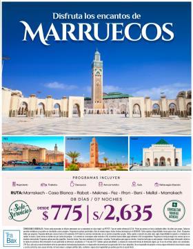 Disfruta los encantos de Marruecos - Trabax