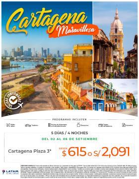 Cartagena Maravillosa - Bloqueos Setiembre