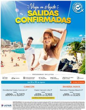 Cancún / Riv Maya en Agosto