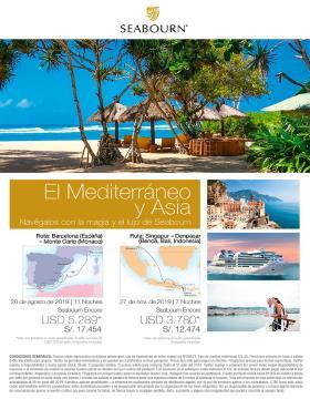 El Mediterráneo y Asia con SEABOURN