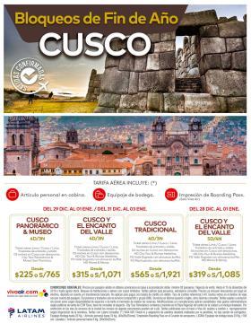 Bloqueos fin de Año en Cusco