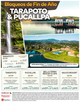 Fin de Año en Tarapoto y Pucallpa