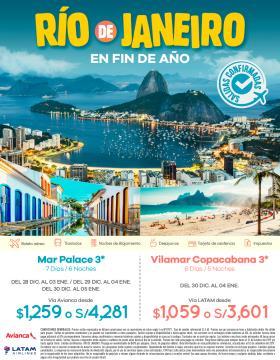 Fin de Año en Río de Janeiro