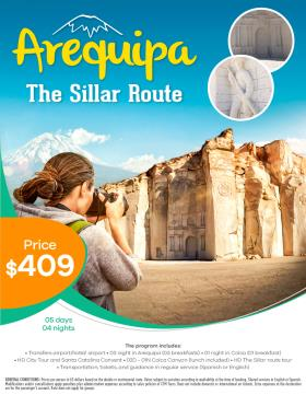 Arequipa & the Ashlar route