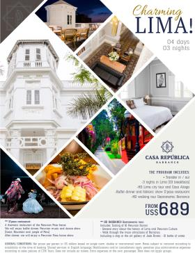 Charming Lima in Casa Republica hotel