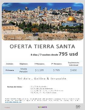 Oferta Tierra Santa