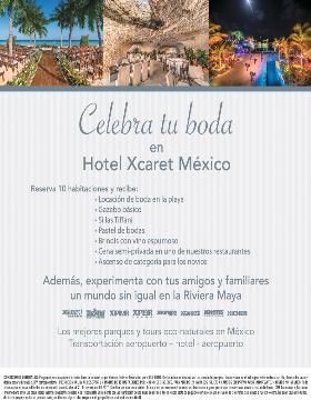Celebra tu boda con Xcaret Hotel México