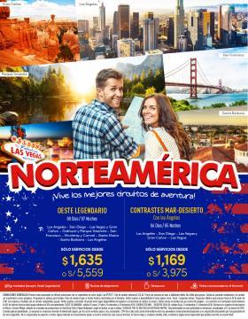 Vive los mejores circuitos de aventura - Norteamérica