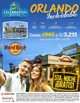 Orlando Inolvidable 5ta Noche Gratis