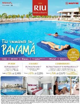 Tus vacaciones en Panamá con Riu Hoteles