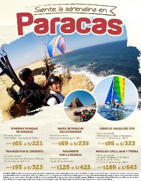 Siente la adrenalina en Paracas
