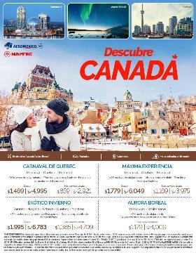 Descubre Canadá con Aeroméxico
