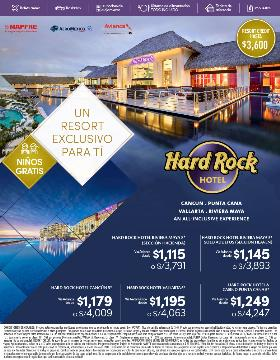 Hard Rock un Resort Exclusivo para ti