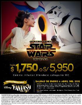 Cruceros Disney - Star Wars