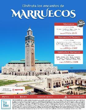 Disfruta los encantos de Marruecos