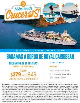 Bahamas a bordo en Royal Caribbean - Miércoles de Crucero