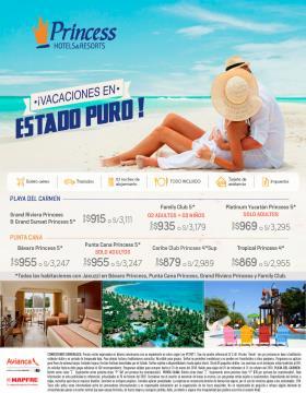 Caribe con Todo Incluido - Princess Hotels