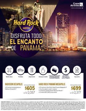Disfruta todo el encanto de Panamá - HARD ROCK