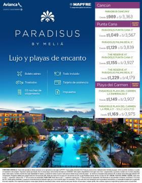 Lujo y Playas de encanto con Paradisus