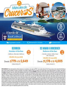 Explora a bordo de Royal Caribbean International