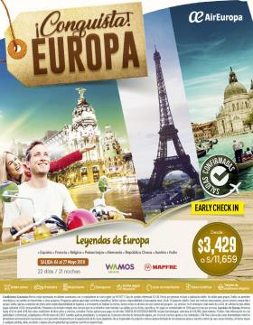 Conquista Europa - Vía AirEuropa