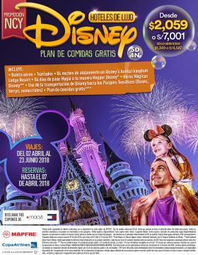 Promo Disney NCY