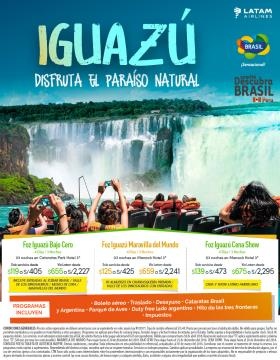 Iguazú - Paraíso Natural