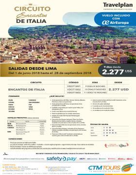 Circuito Encantos de Italia