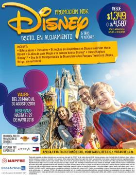 Disney promoción NDK