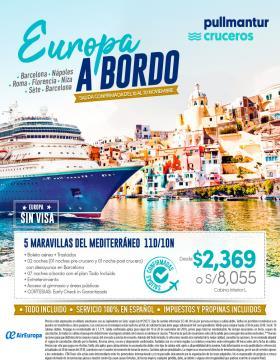 Europa a bordo del 10 al 20 de noviembre - Pullmantur