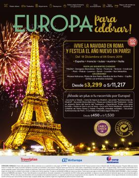 Europa para celebrar
