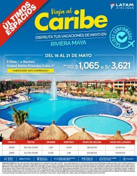 Viaja al Caribe del 16 al 21 de mayo