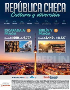 República Checa - Cultura y Diversión