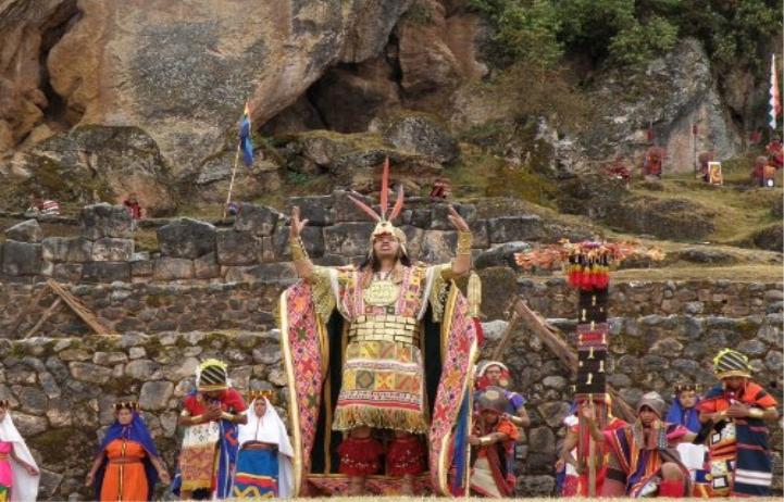 THE SPIRIT OF THE INCAS