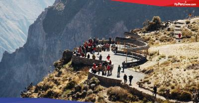 Colca Canyon: One of the world's deepest in the white city