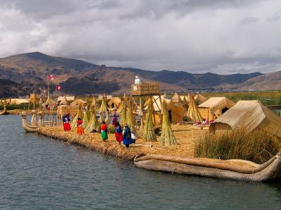 The Floating Island of the Uros