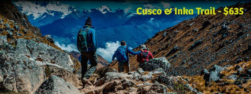 A 4 days trekking to reach Machu Picchu