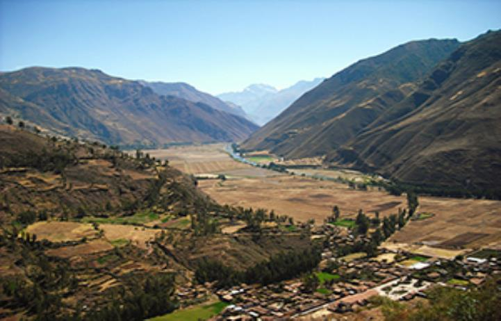 Sacred Valley of the Incas From Cusco