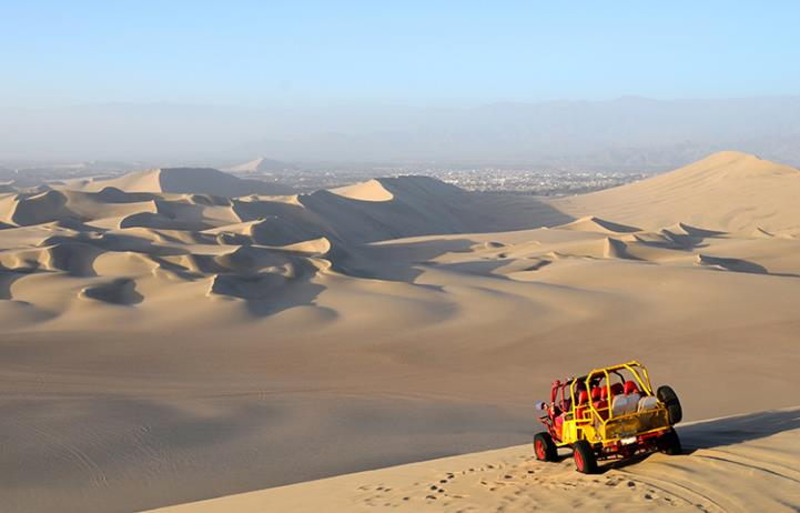 Buggies and Sandboarding from Huacachina